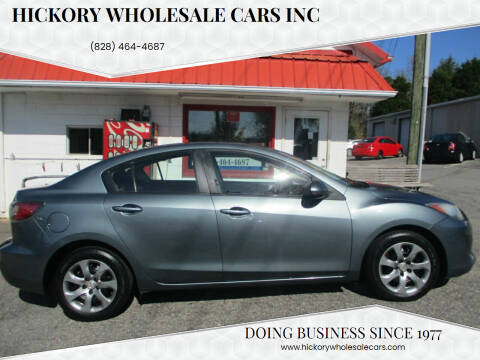 2013 Mazda MAZDA3 for sale at Hickory Wholesale Cars Inc in Newton NC