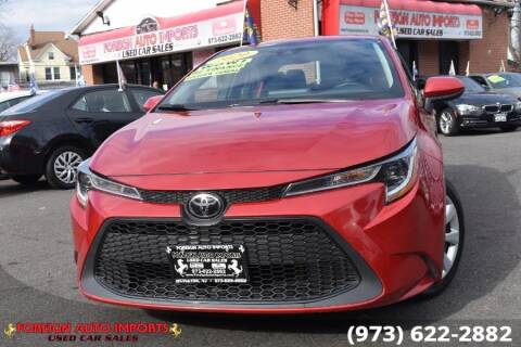 2020 Toyota Corolla for sale at www.onlycarsnj.net in Irvington NJ