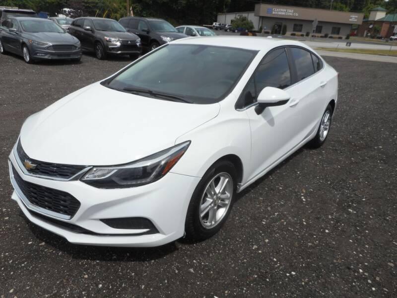 2018 Chevrolet Cruze for sale at Auto Center Elite Vehicles LLC in Spartanburg SC