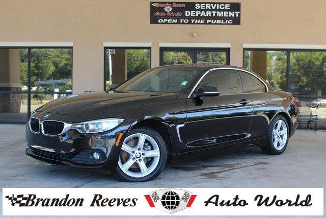 2015 BMW 4 Series for sale at Brandon Reeves Auto World in Monroe NC