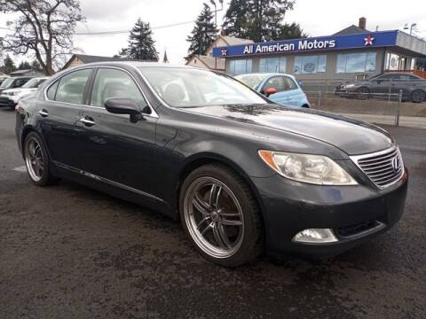 2008 Lexus LS 460 for sale at All American Motors in Tacoma WA