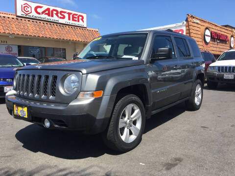 2012 Jeep Patriot for sale at CARSTER in Huntington Beach CA