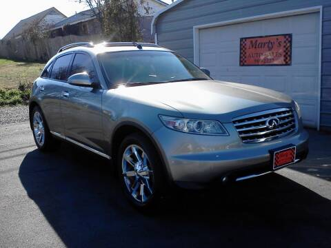 2008 Infiniti FX35 for sale at Marty's Auto Sales in Lenoir City TN