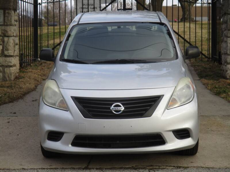 2012 Nissan Versa for sale at Blue Ridge Auto Outlet in Kansas City MO
