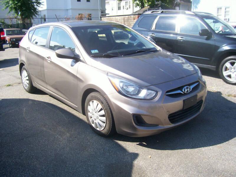 2012 Hyundai Accent for sale at Dambra Auto Sales in Providence RI