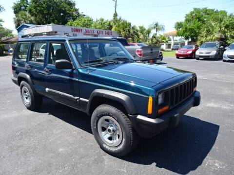 1998 Jeep Cherokee for sale at DONNY MILLS AUTO SALES in Largo FL
