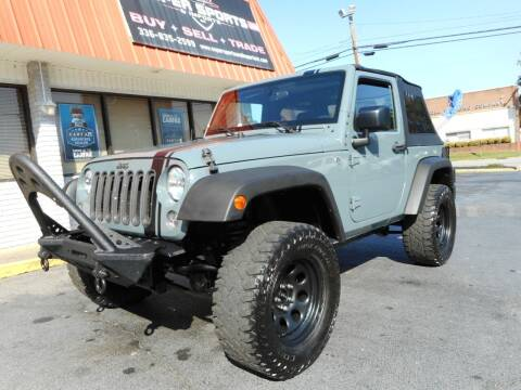 2015 Jeep Wrangler for sale at Super Sports & Imports in Jonesville NC