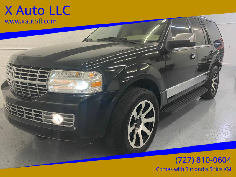 2008 Lincoln Navigator for sale at X Auto LLC in Pinellas Park FL