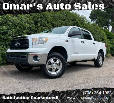 2013 Toyota Tundra for sale at Omar's Auto Sales in Martinez GA