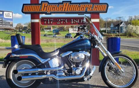 2002 Harley-Davidson FXSTDI Softail Deuce for sale at Haldeman Auto in Lebanon PA