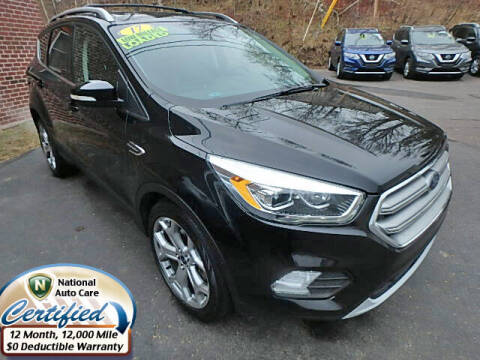 2017 Ford Escape for sale at Jon's Auto in Marquette MI