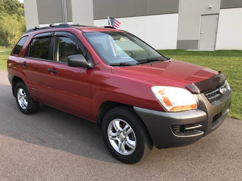 2008 Kia Sportage for sale at Angies Auto Sales LLC in Newport MN