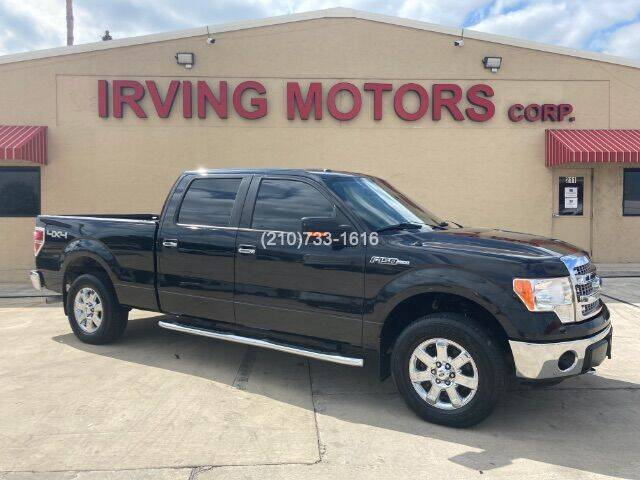 2013 Ford F-150 for sale at Irving Motors Corp in San Antonio TX