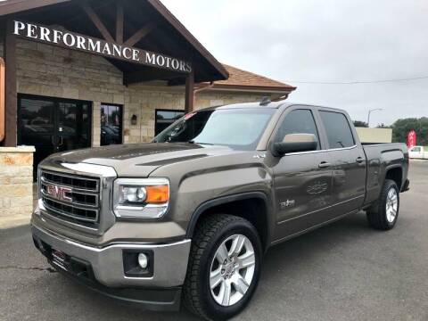 2015 GMC Sierra 1500 for sale at Performance Motors Killeen Second Chance in Killeen TX