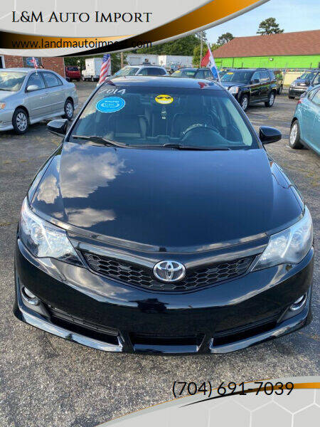 2014 Toyota Camry for sale at L&M Auto Import in Gastonia NC
