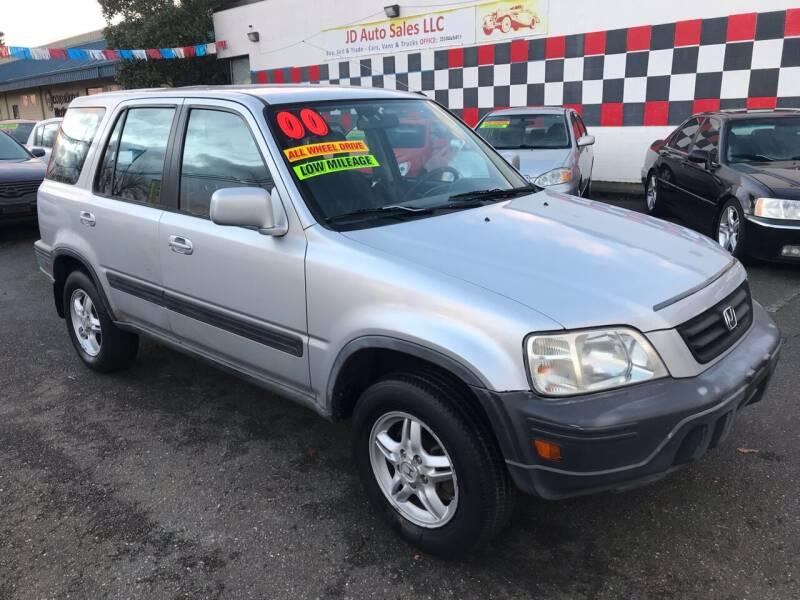 2000 Honda CR-V for sale at JD Auto Sales LLC in Fife WA