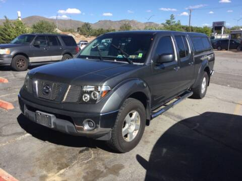 2007 Nissan Frontier for sale at Small Car Motors in Carson City NV
