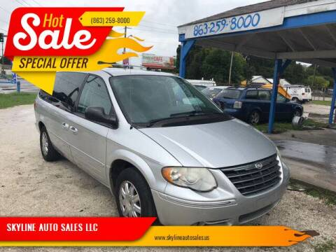 2006 Chrysler Town and Country for sale at SKYLINE AUTO SALES LLC in Winter Haven FL