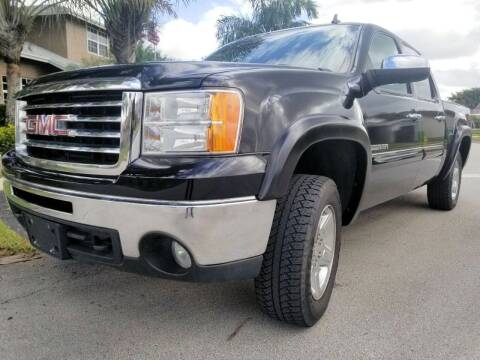 2011 GMC Sierra 1500 for sale at M.D.V. INTERNATIONAL AUTO CORP in Fort Lauderdale FL