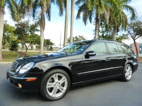 2005 Mercedes-Benz E-Class for sale at VehicleVille in Fort Lauderdale FL
