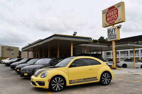 2014 Volkswagen Beetle for sale at Houston Used Auto Sales in Houston TX