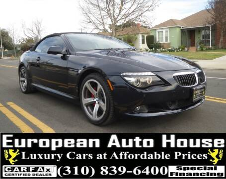 2010 BMW 6 Series for sale at European Auto House in Los Angeles CA