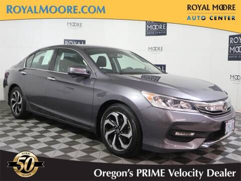 2016 Honda Accord for sale at Royal Moore Custom Finance in Hillsboro OR
