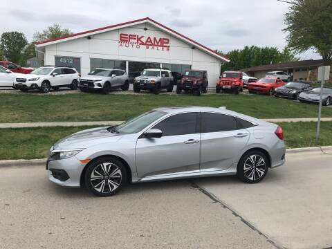 2016 Honda Civic for sale at Efkamp Auto Sales LLC in Des Moines IA