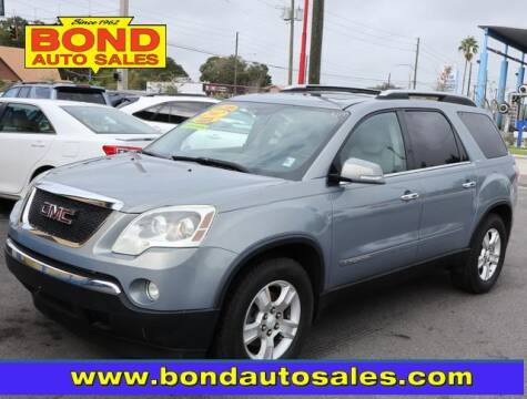 2007 GMC Acadia for sale at Bond Auto Sales in St Petersburg FL