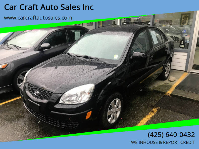 2008 Kia Rio for sale at Car Craft Auto Sales Inc in Lynnwood WA