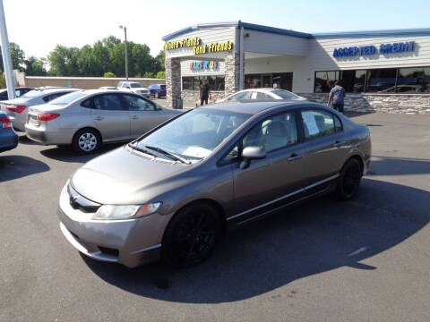 2011 Honda Civic for sale at KARS R US of Spartanburg LLC in Spartanburg SC