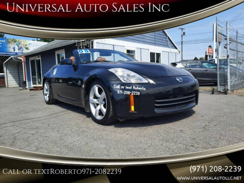 2008 Nissan 350Z for sale at Universal Auto Sales Inc in Salem OR