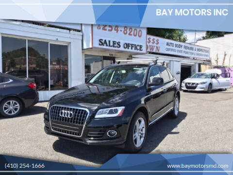 2015 Audi Q5 for sale at Bay Motors Inc in Baltimore MD