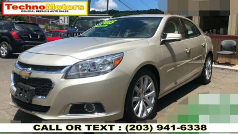 2015 Chevrolet Malibu for sale at Techno Motors in Danbury CT