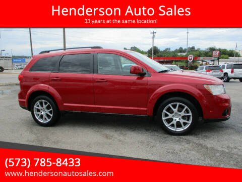 2015 Dodge Journey for sale at Henderson Auto Sales in Poplar Bluff MO