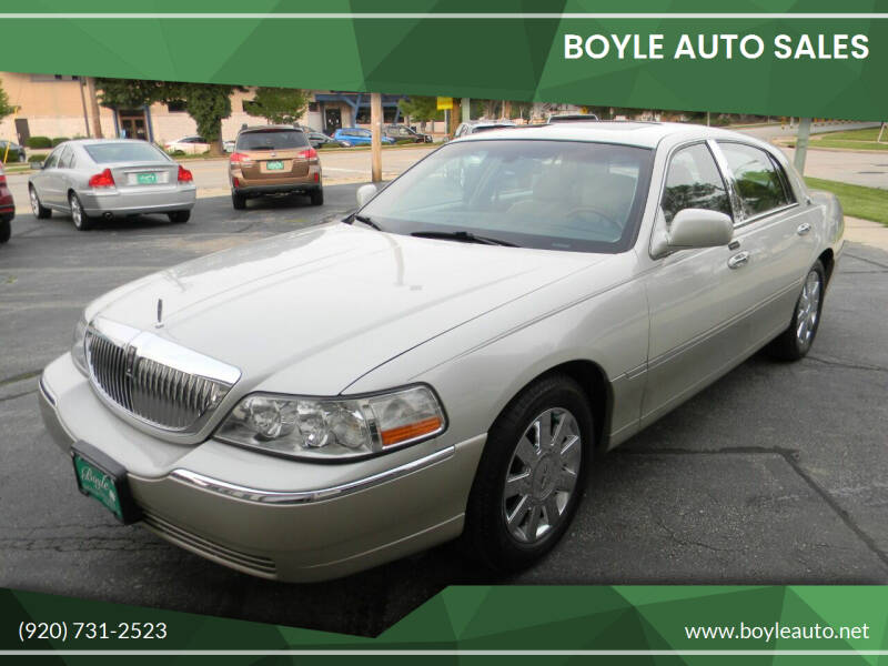 2005 Lincoln Town Car for sale at Boyle Auto Sales in Appleton WI
