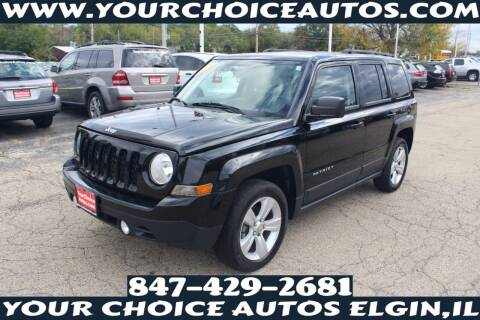 2013 Jeep Patriot for sale at Your Choice Autos - Elgin in Elgin IL