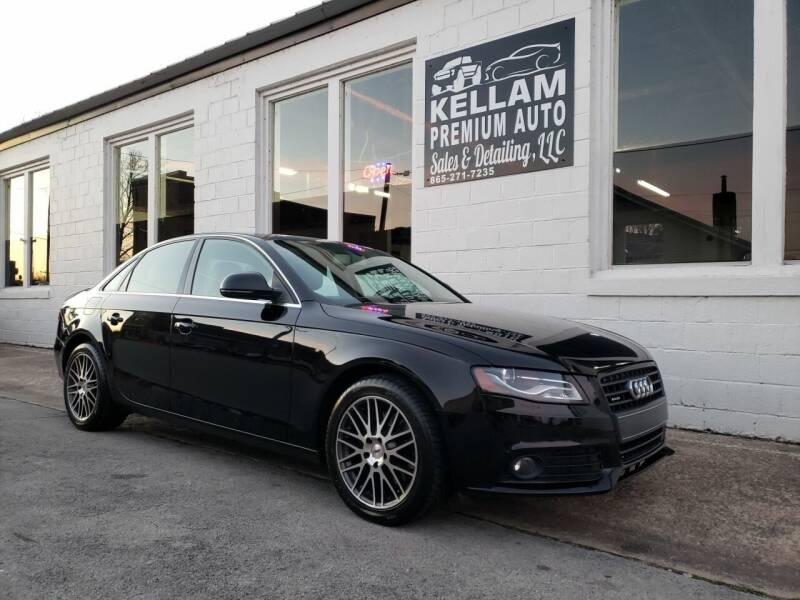 2009 Audi A4 for sale at Kellam Premium Auto Sales & Detailing LLC in Loudon TN