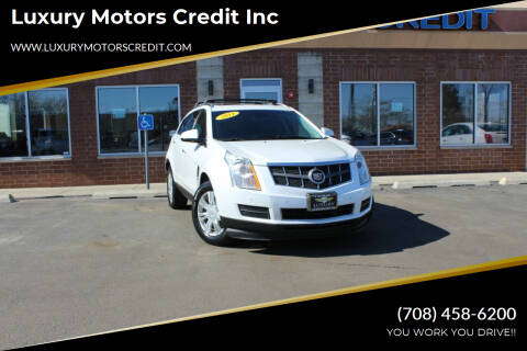 2011 Cadillac SRX for sale at Luxury Motors Credit Inc in Bridgeview IL