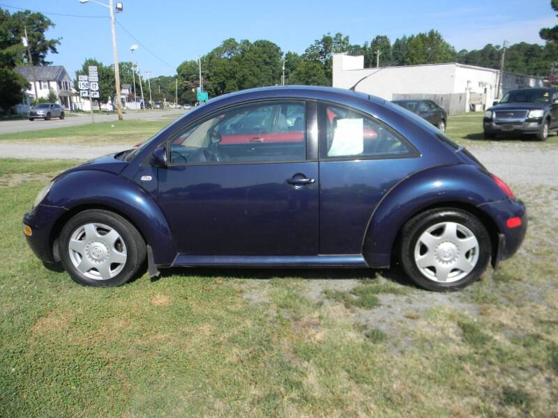 2001 Volkswagen New Beetle for sale at SeaCrest Sales, LLC in Elizabeth City NC