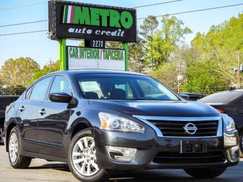 2015 Nissan Altima for sale at Used Imports Auto - Metro Auto Credit in Smyrna GA
