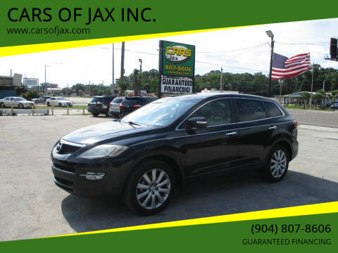 2007 Mazda CX-9 for sale at CARS OF JAX INC. in Jacksonville FL