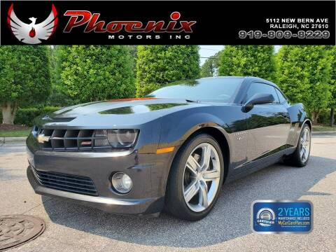 2012 Chevrolet Camaro for sale at Phoenix Motors Inc in Raleigh NC