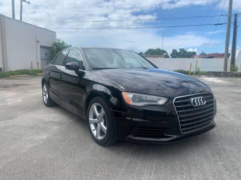 2015 Audi A3 for sale at MIAMI FINE CARS & TRUCKS in Hialeah FL