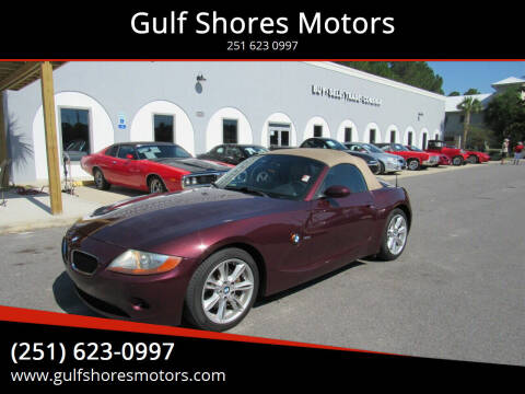 2004 BMW Z4 for sale at Gulf Shores Motors in Gulf Shores AL