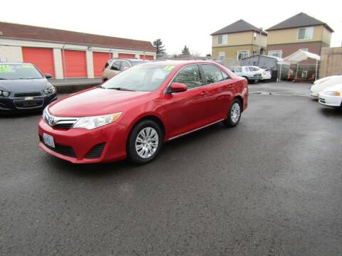 2012 Toyota Camry for sale at ARISTA CAR COMPANY LLC in Portland OR