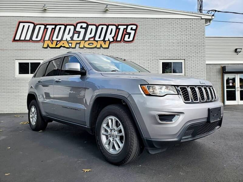 2018 Jeep Grand Cherokee for sale at Motorsports Nation Auto Sales in Plainfield CT