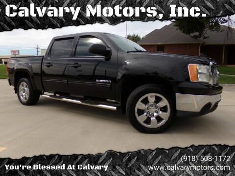2011 GMC Sierra 1500 for sale at Calvary Motors, Inc. in Bixby OK