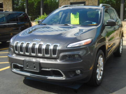 2015 Jeep Cherokee for sale at Rogos Auto Sales in Brockway PA