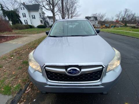 2014 Subaru Forester for sale at AR's Used Car Sales LLC in Danbury CT